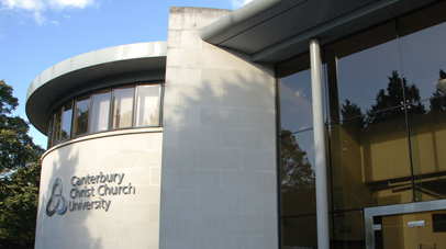 The Old Sessions House at Canterbury Christ Church University