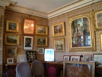 Old Library showing original wallpaper