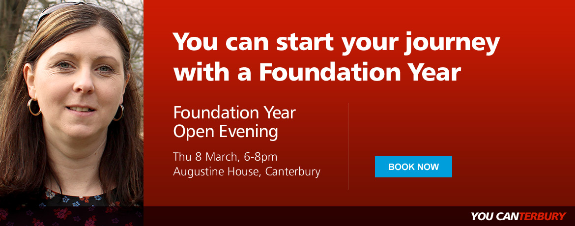 Foundation Year Open Evening