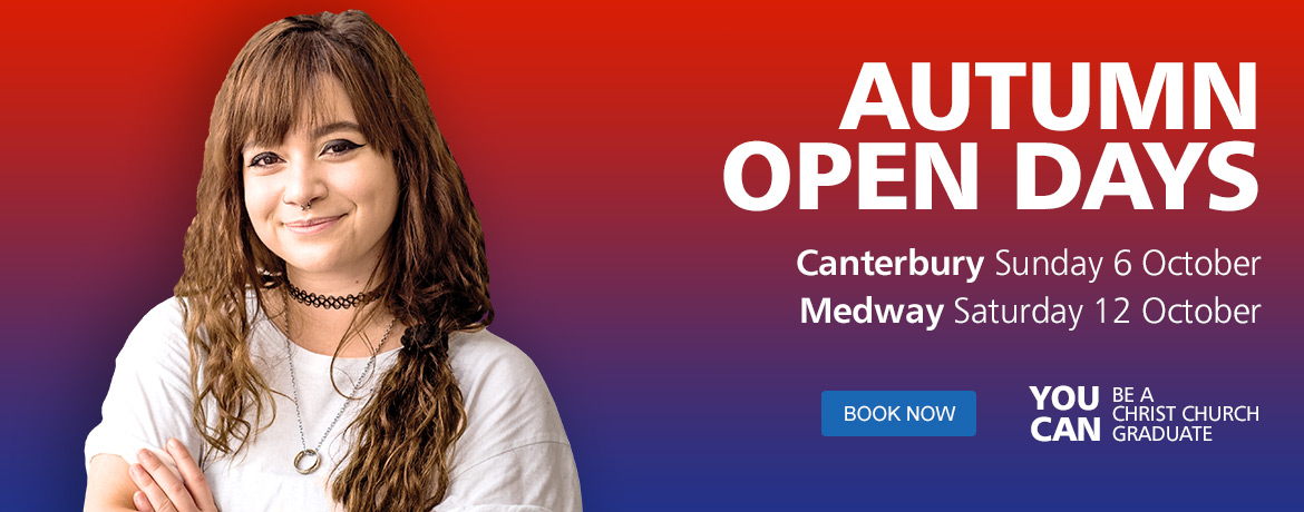 Book on an Autumn Open Day