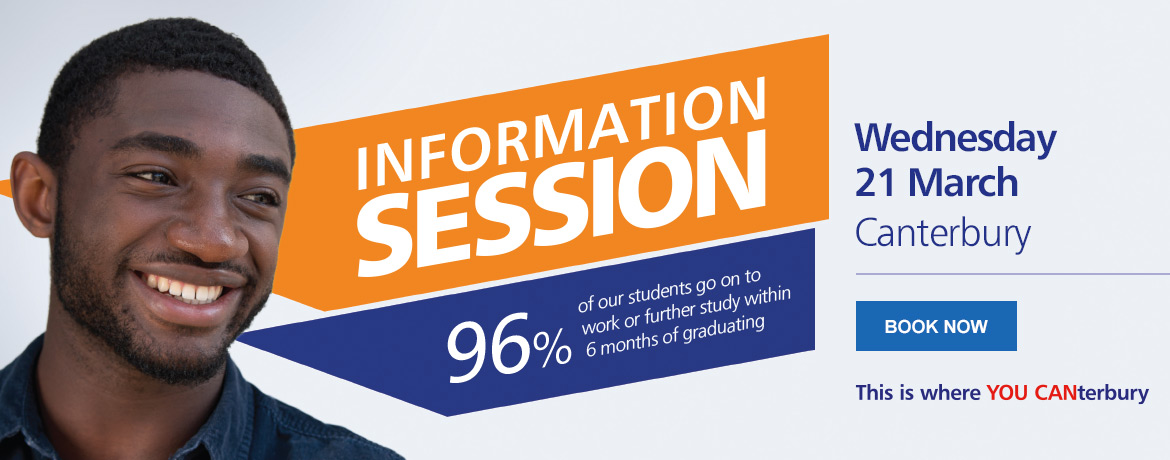 Join us for an Information Session