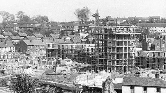 Davidson, Temple and Lang in construction in the 1960s