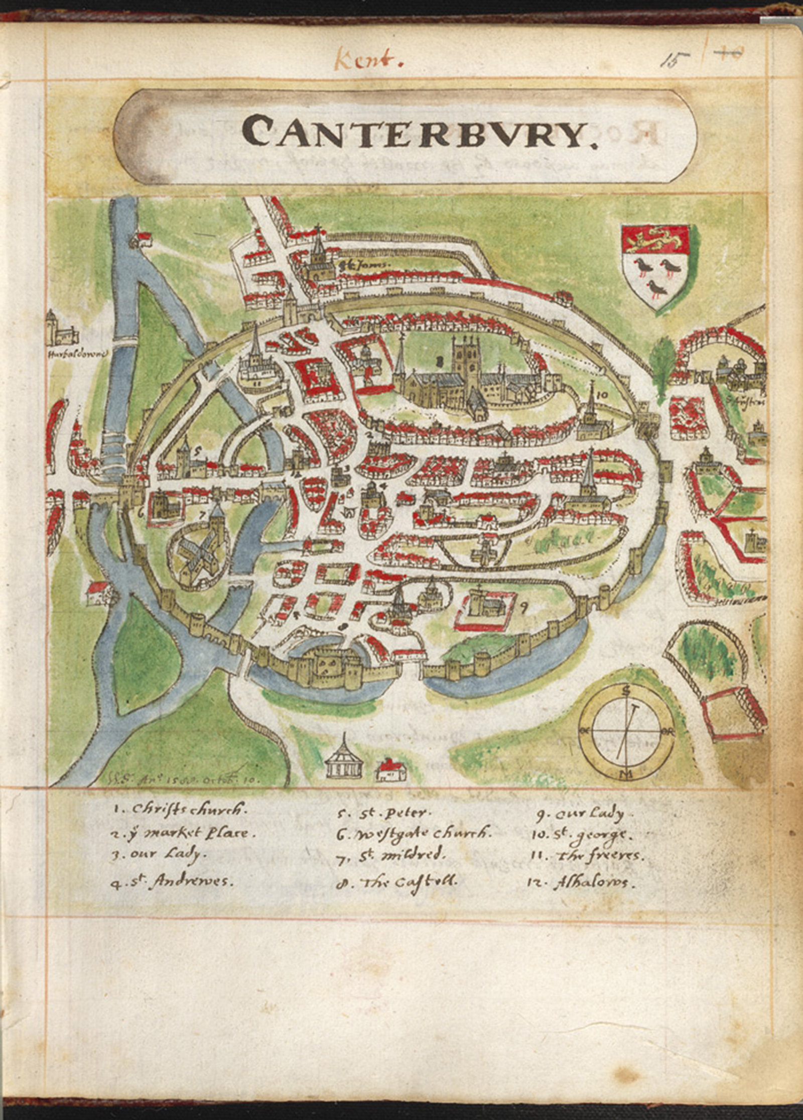 Canterbury maps