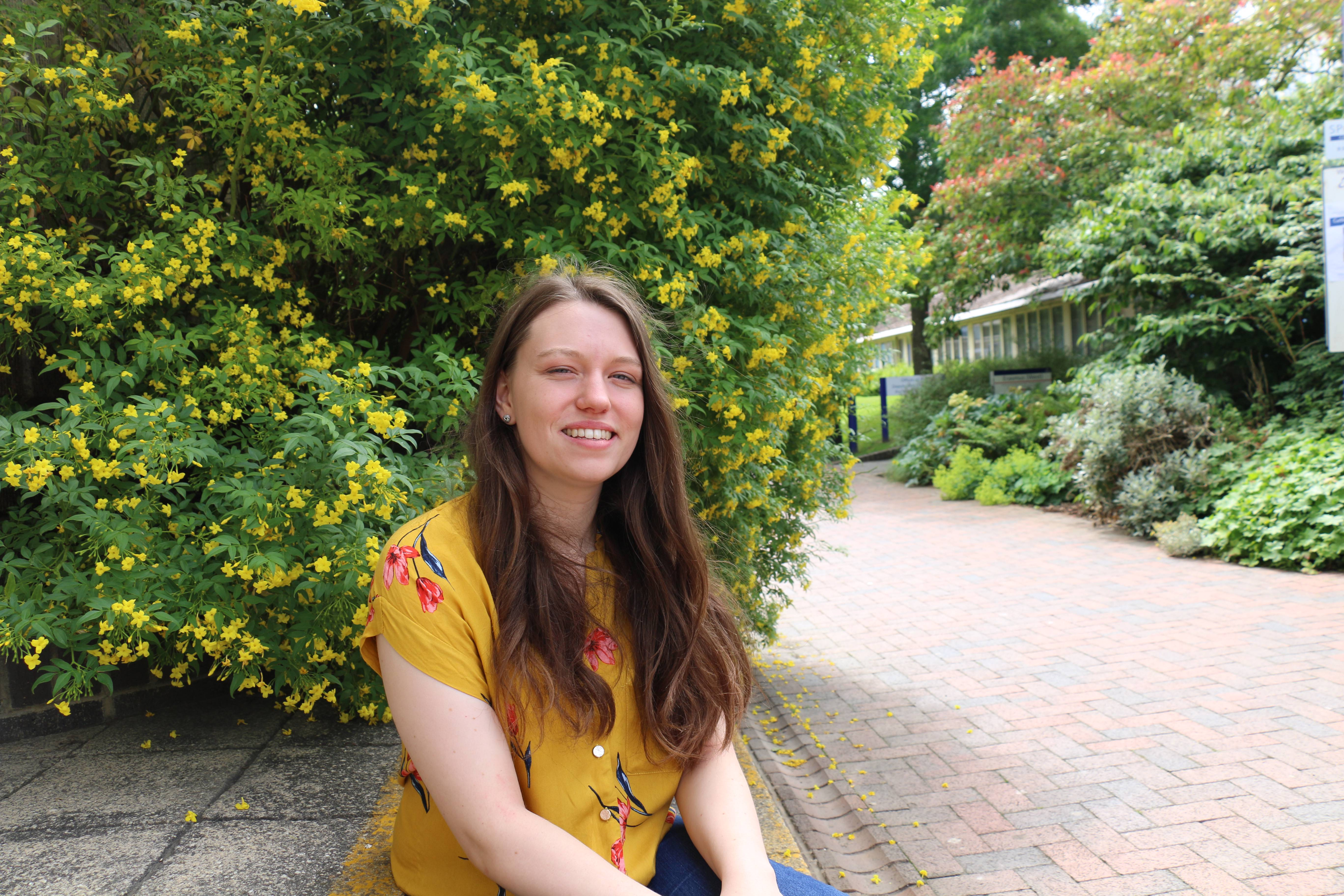 Photo of Polly, Canterbury Christ Church University student