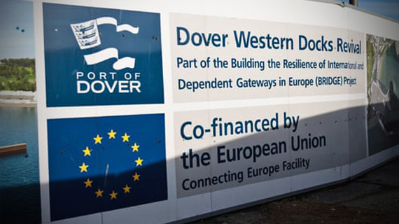ExpertCommnet by Dr Daniel O'Donoghue. Image of Dover Docks